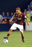 Sporting Park, Kansas City, Kansas, July 31 2013:<br /> Francesco Totti (10) forward AS Roma in action.<br /> MLS All-Stars were defeated 3-1 by AS Roma at Sporting Park, Kansas City, KS in the 2013 AT & T All-Star game.