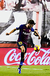 Sergi Roberto Carnicer, S Roberto, of FC Barcelona in action during the La Liga 2018-19 match between Rayo Vallecano and FC Barcelona at Estadio de Vallecas, on November 03 2018 in Madrid, Spain. Photo by Diego Gouto / Power Sport Images