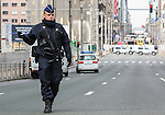 BRUSSELS - BELGIUM - 22 March 2016 -- Bomb attacks in Brussels Maelbeek metro station - EU quarters, Rue de la Loi. -- PHOTO: Juha ROININEN / EUP-IMAGES