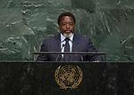 72 General Debate &ndash; 23rd of September  2017<br /> <br /> H.E. Joseph KABILA KABANGE<br /> President of the<br /> DEMOCRATIC REPUBLIC OF THE<br /> CONGO