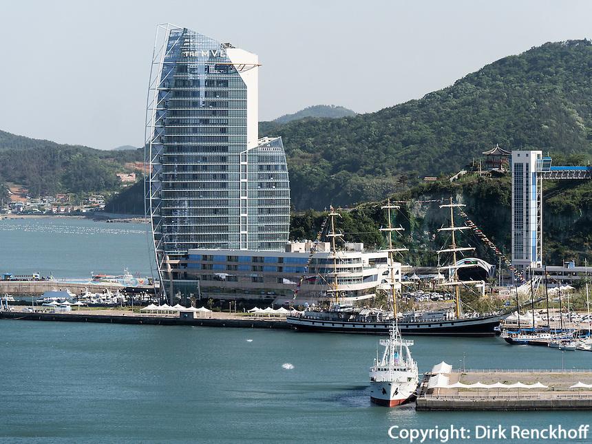 MVL Hotel in Yeosu, Provinz Jeollanam-do, S&uuml;dkorea, Asien<br /> MVl Hotel in Yeosu, province Jeollanam-do, South Korea, Asia