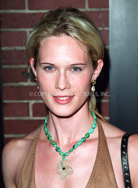 "Stephanie March of NBC's ""Law & Order"" attending a party celebration of the first anniversary of his club Man Ray. New York, July 10, 2002. Please byline: Alecsey Boldeskul/NY Photo Press.   ..*PAY-PER-USE*      ....NY Photo Press:  ..phone (646) 267-6913;   ..e-mail: info@nyphotopress.com"