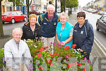 Castleisland Tidy towns were celebrating after they reeceived their highest ever marks l-r: Terence McQuinn, Mary Walsh, Joe Martin, Sheila Hannon and Margaret Prenderville