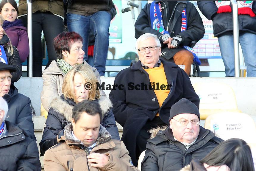 ehemaliger DFB-Präsident Dr. Theo ZWanziger - 1. FFC Frankfurt vs. TSG 1899 Hoffenheim