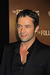 """James Purefoy as the serial killer stars in """"The Following"""", Fox's new tv series on Mondays, which held its world premiere on January 19, 2013 at the New York Public Library, New York City, New York. (Photo by Sue Coflin/Max Photos)"""