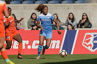 Bridgeview, IL - Saturday May 06, 2017: Casey Short during a regular season National Women's Soccer League (NWSL) match between the Chicago Red Stars and the Houston Dash at Toyota Park. The Red Stars won 2-0.