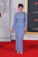 Victoria Hamilton<br /> Premiere of The Crown, a new Netflix TV series about the reign of Queen Elizabeth II, at Odeon Leicester Square, London, England November 01, 2016.<br /> CAP/JOR<br /> &copy;JOR/Capital Pictures /MediaPunch ***NORTH AND SOUTH AMERICAS ONLY***