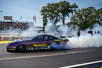 Jun 11, 2017; Englishtown , NJ, USA; NHRA pro stock driver Vincent Nobile during the Summernationals at Old Bridge Township Raceway Park. Mandatory Credit: Mark J. Rebilas-USA TODAY Sports