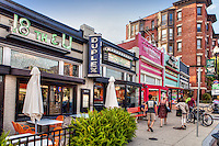 Downtown Washington DC Shopping and Dining<br /> U St, NW Washington DC  U St Corridor