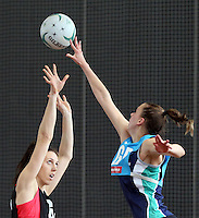 02.09.2016 Silver Ferns Bailey Mes during training in Melbourne Australia. Mandatory Photo Credit ©Michael Bradley.