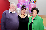 Debbie Murray with her parents at her 40th in the Thatch...(Photo credit should read Jenny Matthews/www.newsfile.ie)....This Picture has been sent you under the conditions enclosed by:.Newsfile Ltd..The Studio,.Millmount Abbey,.Drogheda,.Co Meath..Ireland..Tel: +353(0)41-9871240.Fax: +353(0)41-9871260.GSM: +353(0)86-2500958.email: pictures@newsfile.ie.www.newsfile.ie.
