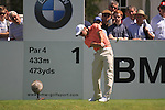 Paul Casey teeing off on the first.during round three of the BMW PGA championship 2010 at Wentworth golf club, Surrey England..Picture Fran Caffrey/Newsfile.ie