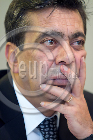 TURIN - ITALY - 22 NOVEMBER 2011 -- European Training Foundation (ETF) Governing Board Meeting -- Salih Çelik Deputy Undersecretary Ministry of National Education, Turkey --  PHOTO: Alberto RAMELLA /  EUP-IMAGES