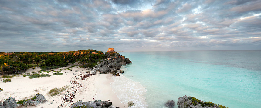 The Mayan Ruins of Tulum, Quintana Roo, Yucatan, Mexico