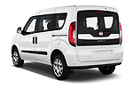 Car pictures of rear three quarter view of a 2018 Fiat Doblo Street 5 Door MPV angular rear