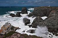 Europe/France/Bretagne/56/Morbihan/ Belle-Ile-en-Mer/Pointe des Poulains: