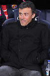 08.01.2014 Barcelona, Spain. Spanish Cup. Picture show Luis Enrique in action during game between FC Barcelona against Elche at Camp Nou