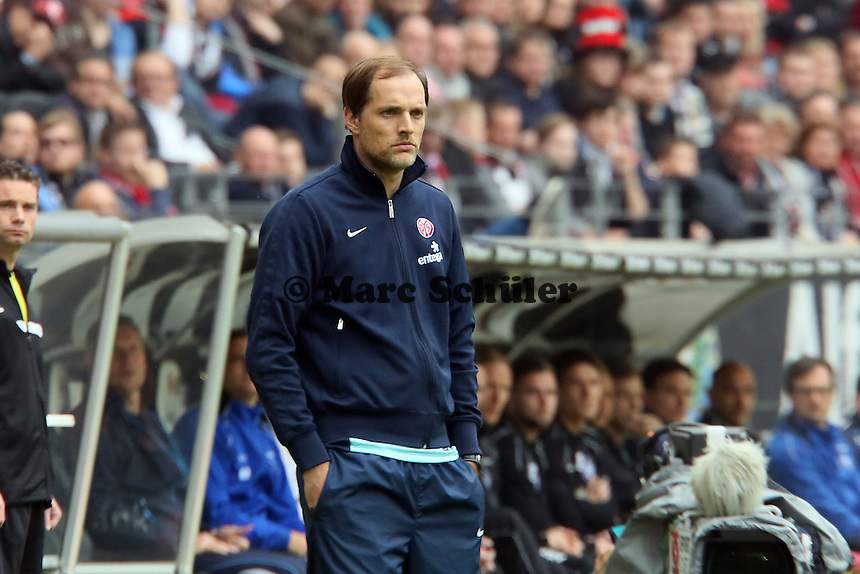 Trainer Thomas Tuchel (Mainz) - Eintracht Frankfurt vs. 1. FSV Mainz 05