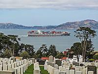 Presidio National Cemetery at San Francisco Bay
