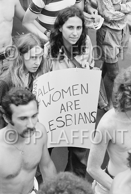 Manhattan, New York City, NY New York, NY - June 27, 1971<br />