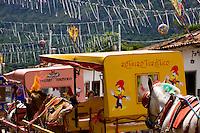 Tiradentes_MG, Brasil...Charretes no carnaval em Tiradentes...The chariots in carnival  in Tiradentes...Foto: LEO DRUMOND /  NITRO