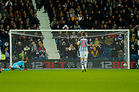 3rd March 2020; The Hawthorns, West Bromwich, West Midlands, England; English FA Cup Football, West Bromwich Albion versus Newcastle United; Jonathan Bond of West Bromwich Albion watches the ball go into his net for Newcastle United's opening goal after 31 minutes (0-1)