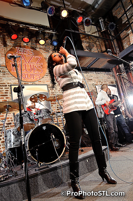 Elements of Soul in concert at BB's Jazz, Blues and Soups in St. Louis on Dec 27, 2009.