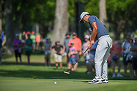 C.T. Pan (TAI) watches his putt on 3 during round 3 of the Fort Worth Invitational, The Colonial, at Fort Worth, Texas, USA. 5/26/2018.<br /> Picture: Golffile | Ken Murray<br /> <br /> All photo usage must carry mandatory copyright credit (&copy; Golffile | Ken Murray)
