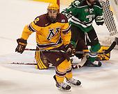 Brady Skjei (MN - 2) - The University of Minnesota Golden Gophers defeated the University of North Dakota 2-1 on Thursday, April 10, 2014, at the Wells Fargo Center in Philadelphia to advance to the Frozen Four final.