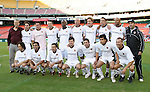 20 Octoboer 2007: Hollywood United pose for a team photo. The team featured Anthony LaPaglia, Richard Gough, Olivier Biaggi, Mauricio Ramos, Rodrigo Rios, Marcellow Fraccia, Tab Ramos, Alex Pineda Chacon, Dante Washington, Eric Wynalda, Vivian Campbell, Jim Sonefeld, Yari Allnutt, and Derk Droze. The 1997 DC United team defeated Hollywood United 2-1 in the Marco Etcheverry tribute match played before a regular season MLS game at RFK Stadium in Washington, DC.