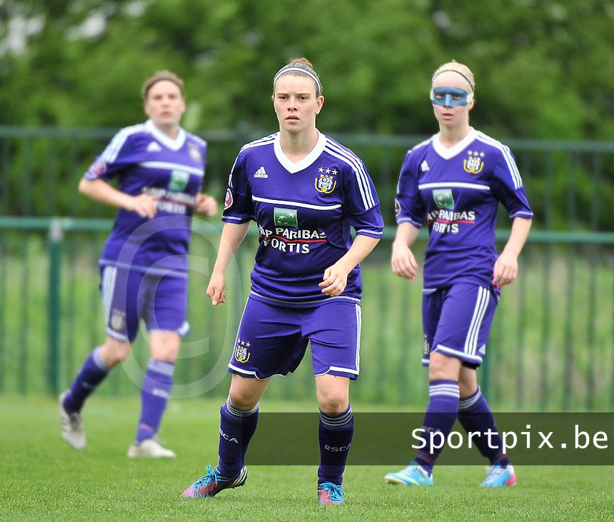 RSC Anderlecht Dames - Ajax Amsterdam : Lieselot De Kegel.foto DAVID CATRY / Nikonpro.be