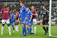 Sean Morrison Of Cardiff City FC during West Ham United vs Cardiff City, Premier League Football at The London Stadium on 4th December 2018