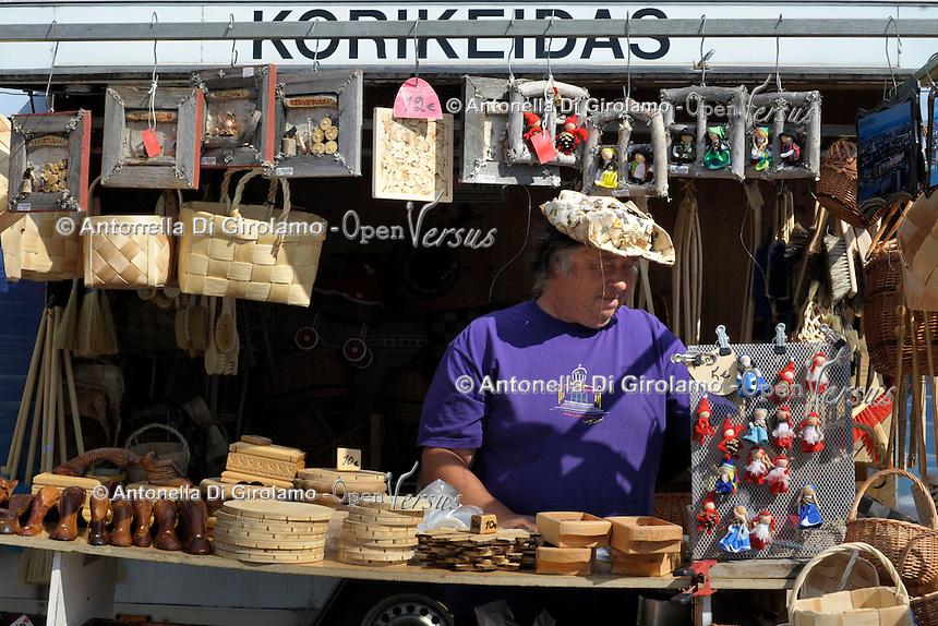 Kauppatori, la Piazza del Mercato di Helsinki. Kauppator marketplace