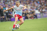 Orlando, FL - Saturday July 01, 2017: Alyssa Mautz during a regular season National Women's Soccer League (NWSL) match between the Orlando Pride and the Chicago Red Stars at Orlando City Stadium.