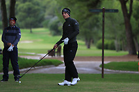 Matthew Jordan (ENG) on the 16th tee during Round 4 of the Challenge Tour Grand Final 2019 at Club de Golf Alcanada, Port d'Alcúdia, Mallorca, Spain on Sunday 10th November 2019.<br /> Picture:  Thos Caffrey / Golffile<br /> <br /> All photo usage must carry mandatory copyright credit (© Golffile | Thos Caffrey)