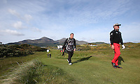 Saturday 30th May 2015; Darren Clarke strides down the 2nd fairway<br /> <br /> Dubai Duty Free Irish Open Golf Championship 2015, Round 3 County Down Golf Club, Co. Down. Picture credit: John Dickson / SPORTSFILE