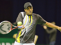09-02-13, Tennis, Rotterdam, qualification ABNAMROWTT, Rajeev Ram