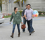 4-11-2010..Jessica Alba & Cash Warren leaving the George Petrelli steak house restaurant in Los Angeles California.  The couple also went baby shopping next door. ...AbilityFilms@yahoo.com.805-427-3519.www.AbilityFilms.com