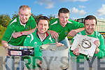 Paul Geaney, Patrick O'Rourke, Martin Moriarty and Jason McCarthy from Castleisland AFC who are holding a scrap metal collection days in Castleisland Mart on the Saturday 11th and Saturday 18th of June and are appealing for people in the Castleisland area to donate their scrap metal