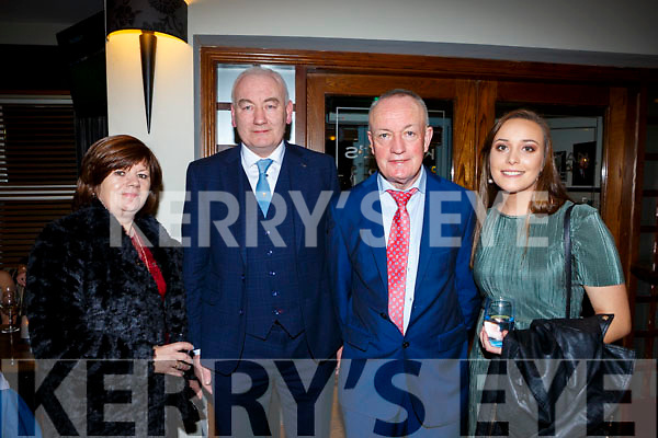Kathleen and John Joe Courtney, Sean and Aoife O'Mahony at the Listry GAA social in the Dromhall Hotel on Saturday night