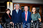 Kathleen and John Joe Courtney, Sean and Aoife O'Mahony at the Listry GAA social in the Dromhall Hotel on Saturday night