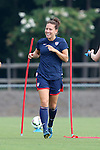 18 August 2014: Lauren Holiday. The United States Women's National Team held a training session on Field 4 at WakeMed Soccer Park in Cary, North Carolina.