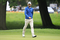 Chris Selfridge (NIR) on the 1st green during Round 1 of the Bridgestone Challenge 2017 at the Luton Hoo Hotel Golf &amp; Spa, Luton, Bedfordshire, England. 07/09/2017<br /> Picture: Golffile | Thos Caffrey<br /> <br /> <br /> All photo usage must carry mandatory copyright credit     (&copy; Golffile | Thos Caffrey)