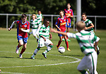 Action between Celtic v Nerang Eagles. Photo by Glenn Ashley