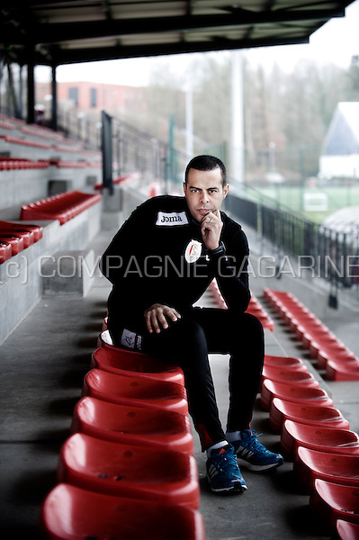 Former Israeli footballer Guy Luzon, currently coach of the Belgian football club Standard Liège (Belgium, 23/01/2014)
