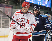 Kevin Duane (BU - 18), Dan Renouf (Maine - 2) - The University of Maine Black Bears defeated the Boston University Terriers 7-3 (2EN) on Saturday, January 11, 2014, at Fenway Park in Boston, Massachusetts.