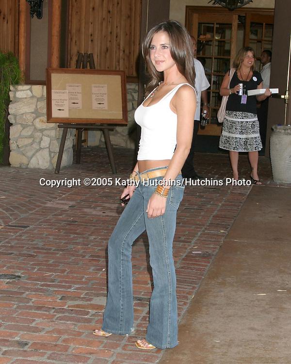 Kelly Monaco.General Hospital Fan Club Luncheon.Sportsman's Lodge.Studio City, CA.July 16, 2005.©2005 Kathy Hutchins / Hutchins Photo