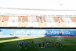 Leicester City FC's team during training session. April 11, 2017.(ALTERPHOTOS/Acero)