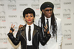 NEW ORLEANS, LA - JULY 4: Janelle Monae and Niles Rogers attends the 2014 Essence Music Festival at the Mercedes-Benz Superdome on July 4, 2014 in New Orleans, Louisiana. Photo Credit: Morris Melvin / Retna Ltd.