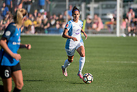 Kansas City, MO - Sunday May 07, 2017: Kristen Edmonds during a regular season National Women's Soccer League (NWSL) match between FC Kansas City and the Orlando Pride at Children's Mercy Victory Field.